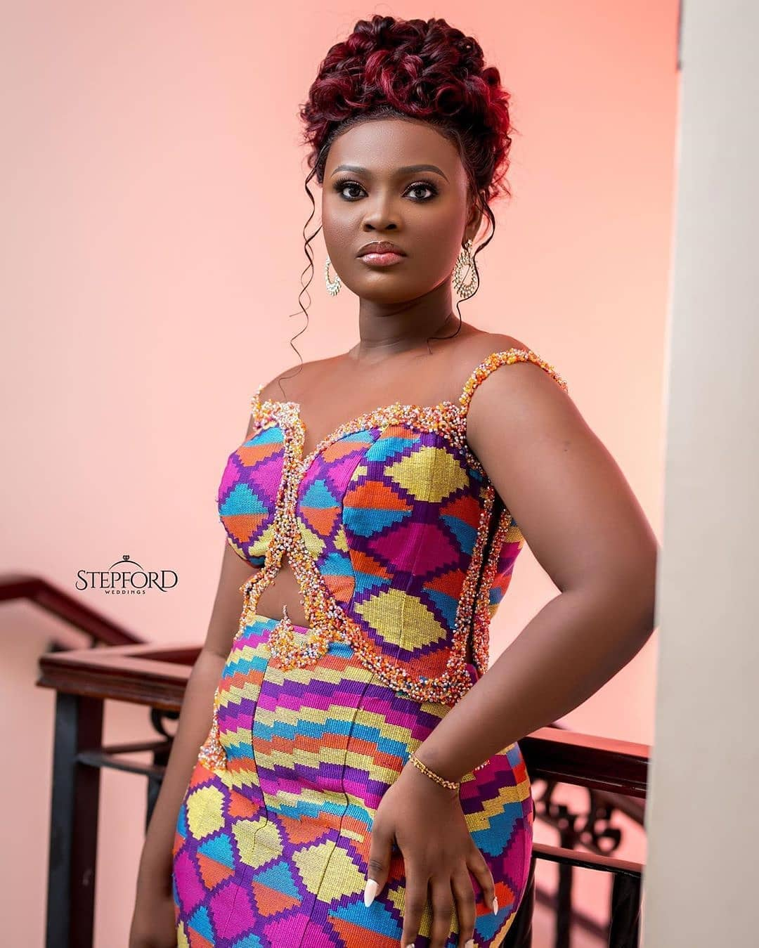 50 Kente Styles for Engagement, Graduation. (Photos) 6