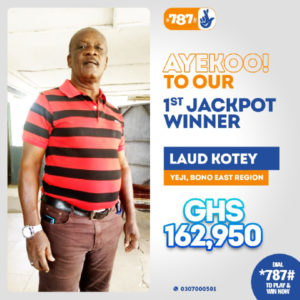 How to Play 787 Lottery in Ghana 1