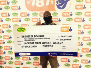 How to Play 787 Lottery in Ghana 5